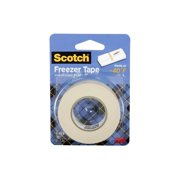 Scotch Freezer Tape, 3/4 in. x 1000 in., Holds at -40F, 1 Roll