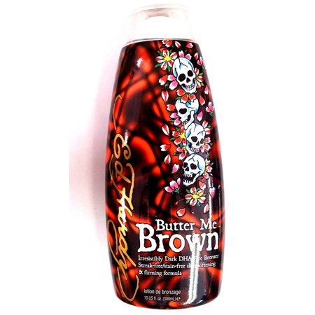 Ed Hardy Butter Me Brown Indoor Tanning Bed Lotion