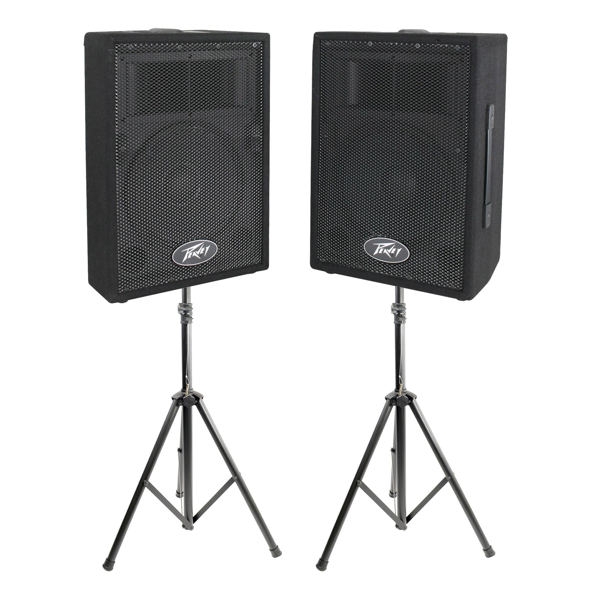 Peavey DJ 2-Way 100 Watt PA Speaker System (2 Speakers) +...