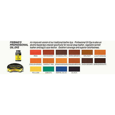 Fiebings Professional Oil Leather Dye 32oz - 15 Colors (Yellow) - image 1 of 2