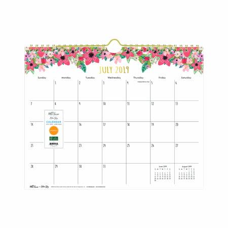 Blue Sky 11 Quot X 8 75 Quot Wall Calendar July 2019 June 2020