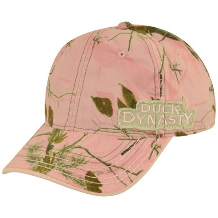 Duck Dynasty Reality Tv Show Adjustable  Pink Camouflage A&E Women Hat Cap (Duck Dynasty Women)