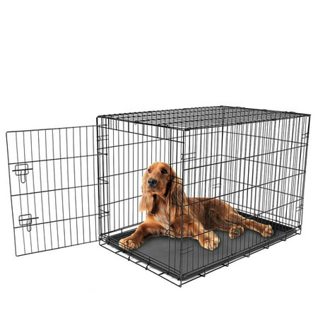 Carlson Intermediate Single Door Wire Crate ()