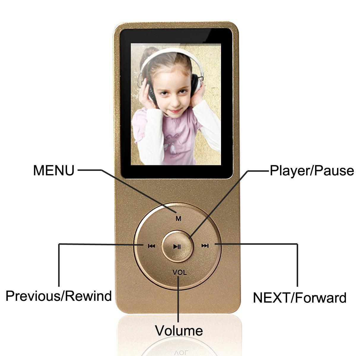 HONGYU 1.8 Inch Screen Original Lossless Portable MP3 MP4...