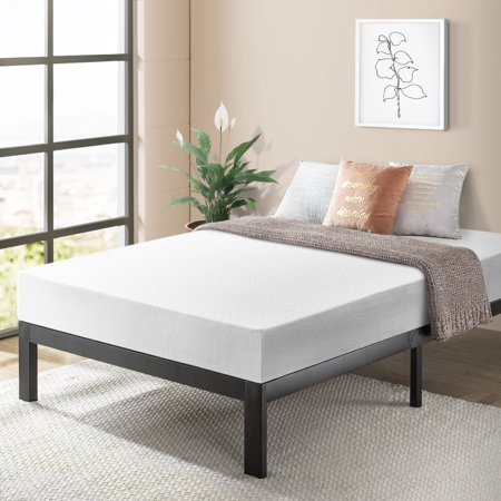 Best Price Mattress 10 inch Memory Foam Mattress and Model E Bed Frame Set, Multiple (Best Model Home Designs)