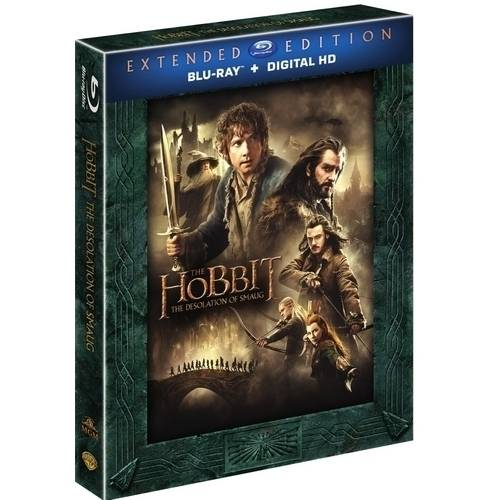 The Hobbit: The Desolation Of Smaug (Extended Edition) (Blu-ray + Digital HD) (With Ultraviolet) (With INSTAWATCH)