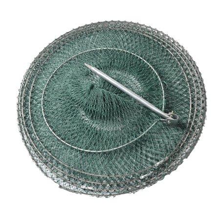 Unique bargains 31 1 4 layers foldable fishing landing for Fish basket walmart