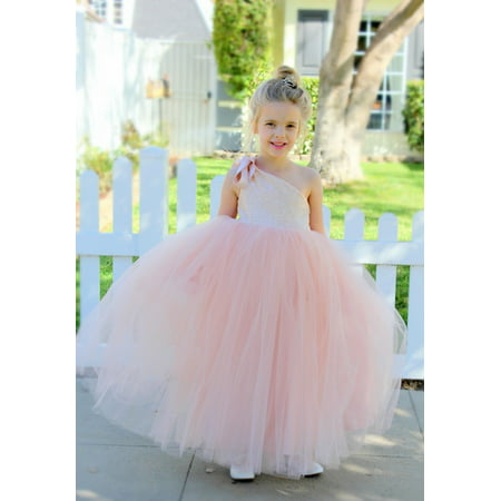 Halloween Ball Gowns For Tweens (One-Shoulder Sequin Tutu Flower Girl Dress Wedding Pageant Dresses Ball Gown Tutu Dresses Pageant Dress)