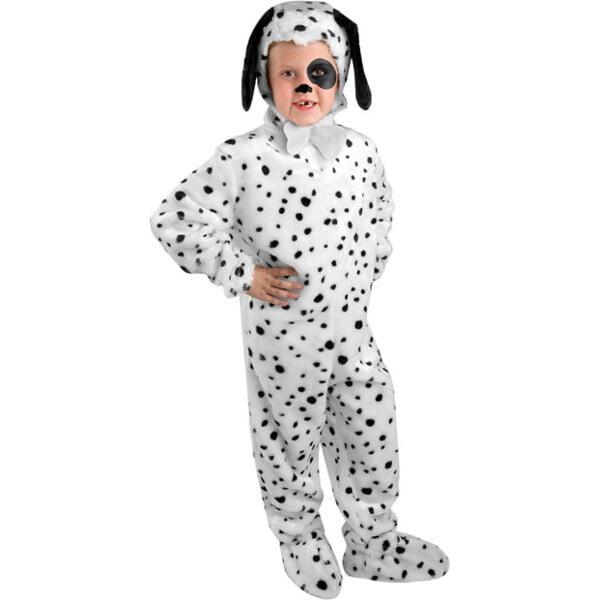 Child Dalmatian Dog Costume~X-Small 4-6 / White