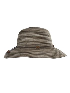 d61e2b74 Product Image Ladies Breeze Crushable Straw Hat (base upc 0005936690383),  color BRN