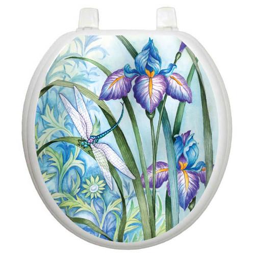 Toilet Tattoos Themes Iris Beauty Toilet Seat Decal