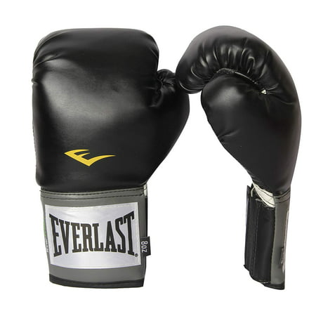 Everlast Pro Style Full Mesh Palm Training Boxing Gloves Size 8 Ounces, Black](Halloween Boxing Gloves)
