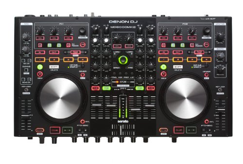 Denon DJ MC6000MK2 Premium Digital DJ Controller Mixer with full Serato DJ download... by DENON