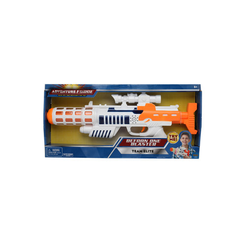 Adventure Force Defcon One Boy's Super Electronic Gun with Lights and Sounds