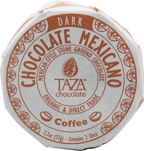 Taza Chocolate Organic Chocolate Mexicano Disc Coffee -- ...