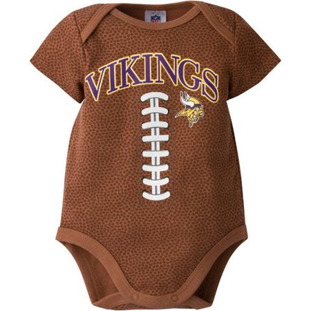 92845f28 NFL Minnesota Vikings Baby Boys Football Print Bodysuit