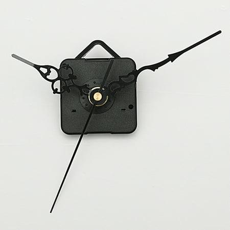 Jeteven DIY Quartz Clock Spindle Movement Mechanism Repair clock movement Parts Kit + Black Hands](Black Cloak For Sale)
