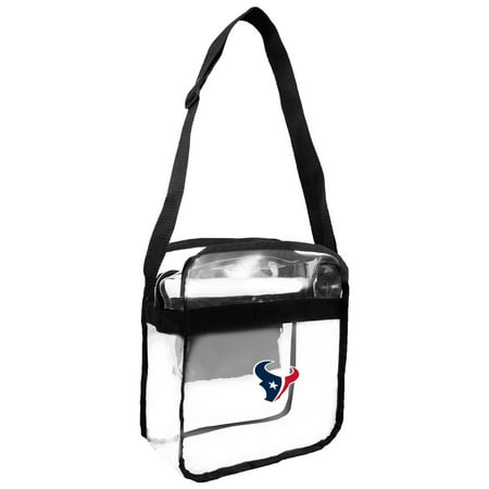 Little Earth - NFL Clear Carryall Cross Body Bag, Houston - Nfl Am Halloween Show