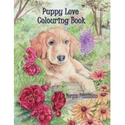 Puppy Love Colouring Book : Art Therapy Collection