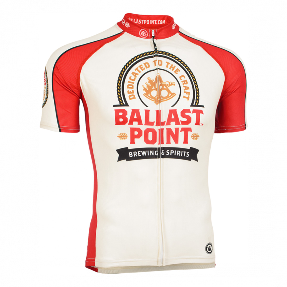 Canari Cyclewear Mens Ballast Sextant Short Sleeve Cycling Jersey - 12280