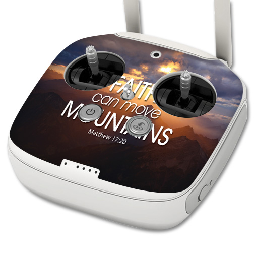 Skin For DJI Phantom 3 Professional Drone Controller – Move Mountains | MightySkins Protective, Durable, and Unique Vinyl Decal wrap cover | Easy To Apply, Remove, and Change Styles | Made in the USA