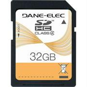 Dane-Elec - Flash memory card - 32 GB - Class 4 - SDHC