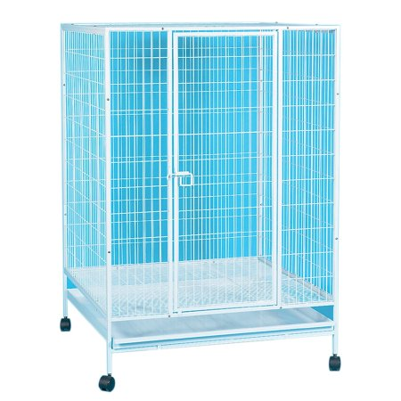 YML Small Animal Cage with Wire Bottom Grate and Plastic Tray (Wife Animals)