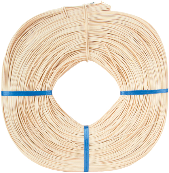 Round Reed #2 1.75mm 1 Pound Coil, Approximately 1100'