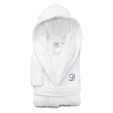 Linum Home Textiles Personalized Kids Turkish Cotton Hooded Terry Bathrobe