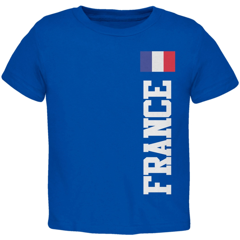 World Cup France Blue Toddler T-Shirt