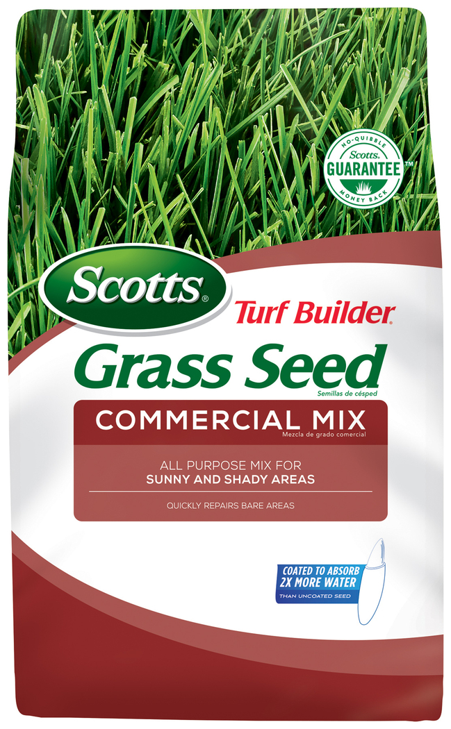 Scotts Turf Builder Grass Seed Commercial Mix (North), 20 lb.