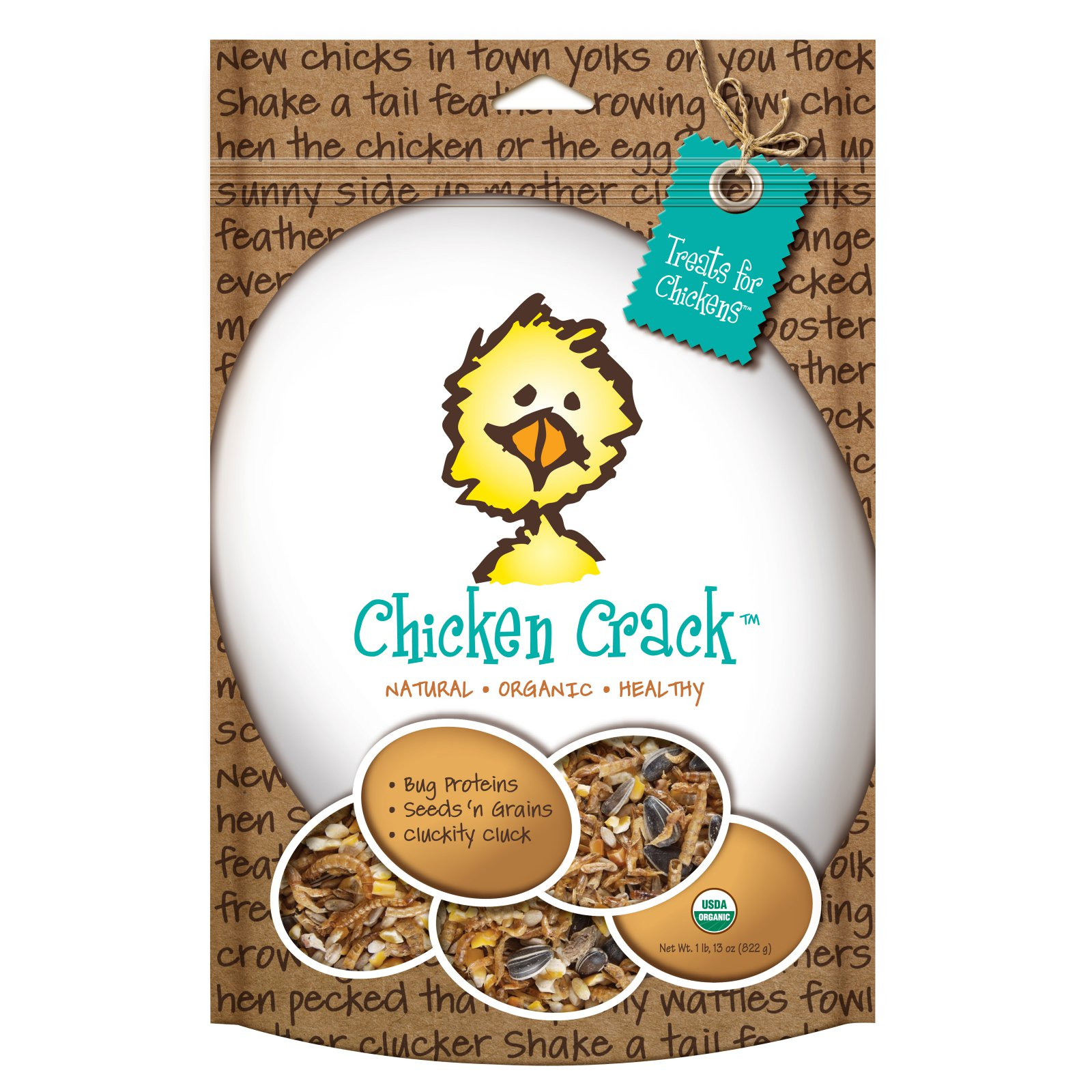Treats For Chickens Organic Chicken Crack - Healthy Treat