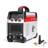 220V 7000W 2In1 TIG/ARC Welding Machine 250A MMA IGBT Inverter WS-250 Welder Kit/Home Garden Welding Tool