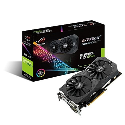 Asus Strix-Gtx1050Ti-O4G-Gaming Graphics Card - STRIX-GTX1050TI-O4G-GAMING