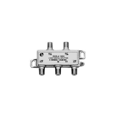 Blonder Tongue 33-11715 Four Way Splitter For Antenna Or Catv-5Mhz ~ 1000Mhz
