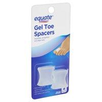 Equate Gel Toe Spacers, 2 count
