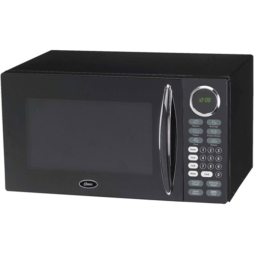 Oster 0.9 cu. Ft.  Microwave Oven, Black