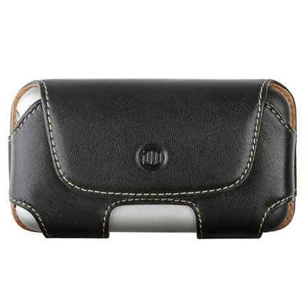 Iphone 3g Holster - DLO Leather Holster Case for iPhone 3G, 3G S (Black)