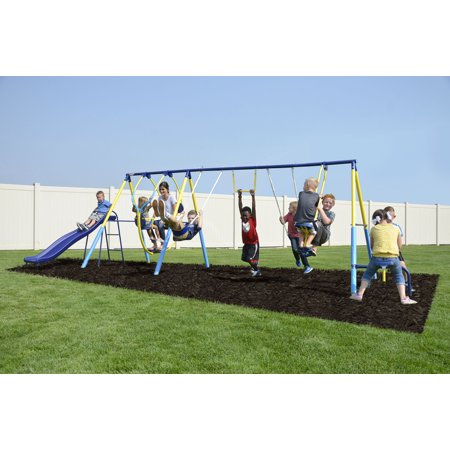 Sportspower Super 10 Me And My Toddler Metal Swing Set Walmartcom