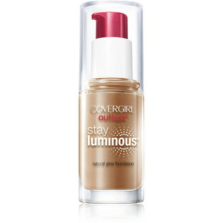 COVERGIRL Outlast Stay Luminous Foundation, Soft Sable, 1 fl oz (30 ml)