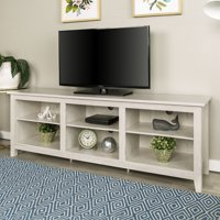 Deals on Walker Edison Wood TV Media Storage Stand for TVs 78-in