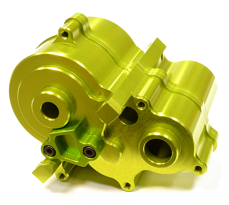 Integy RC Toy Model Hop-ups C25903GREEN Billet Machined Center Gear Box for Traxxas 1 10... by Integy