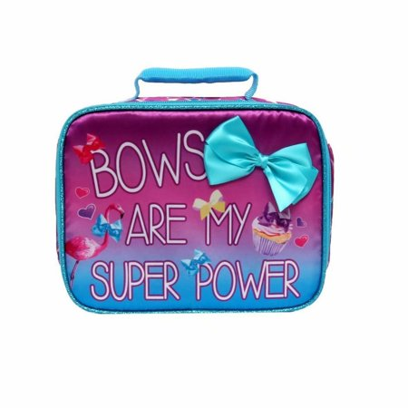 Jojo Lunch Box Soft Kit Insulated Cooler Siwa Bows Are My