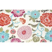 "The Rug Market Poppy Scrolls 7.6"" x 9.6"" Area Rug"