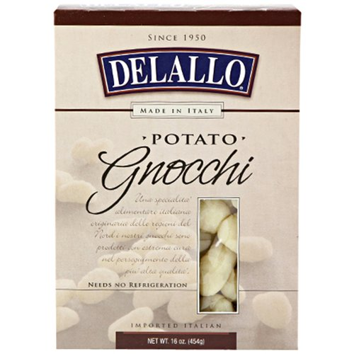 DeLallo Potato Gnocchi, 16 oz, (Pack of 12)