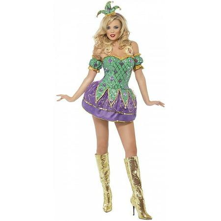 Female Harlequin Costume (Harlequin Shine Adult Costume -)