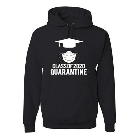 Class Of 2020 Graduation Seniors Student Professor Gift | Mens Pop Culture Hooded Sweatshirt Graphic Hoodie, Black, Small
