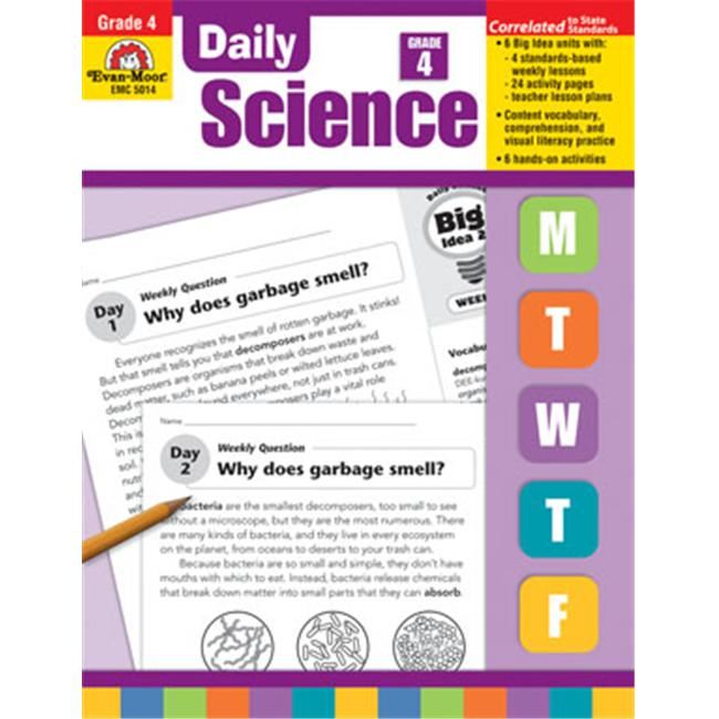 Evan Moor Educational Publishers 5014 Daily Science  Grade 4