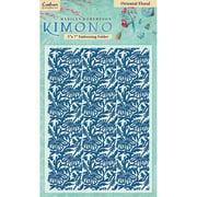 "Kimono Embossing Folder 5""x7""-oriental F"