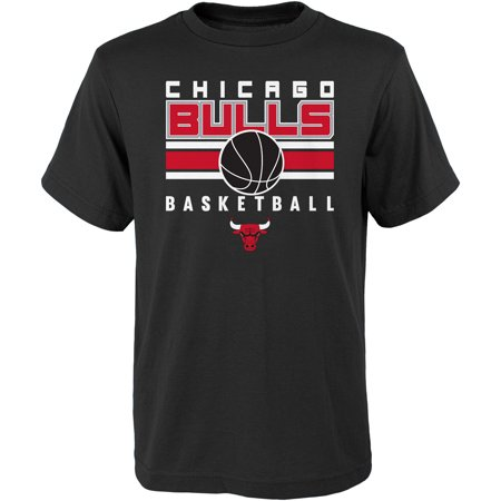 Youth Black Chicago Bulls Alternate T-Shirt